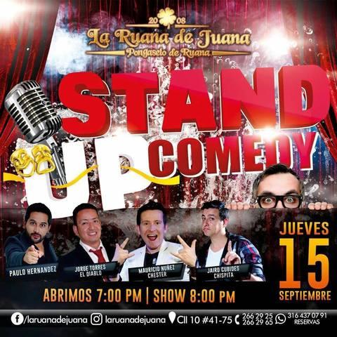 Ruana se va de Stand Up Comedy