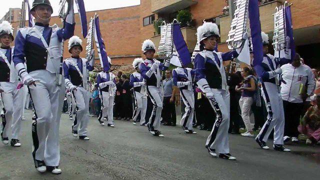 Desfile bandas marciales
