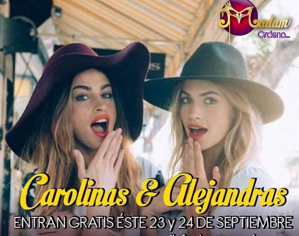 Carolinas y Alejandras