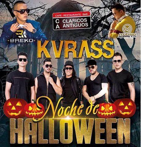 Noche de Halloween Grupo Kvrass