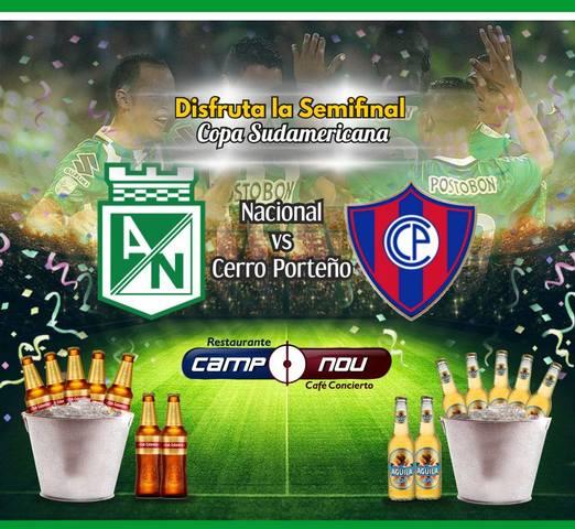 Nacional vs Cerro Porteño