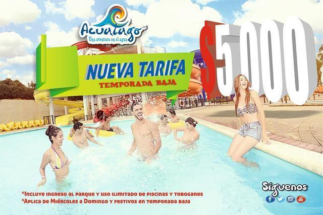 Acualago nueva tarifa 5000