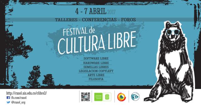 Segundo festival de cultura libre