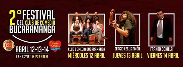 2do Festival del club de comedia de Bucaramanga