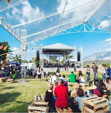 Food Truck Garden Festival