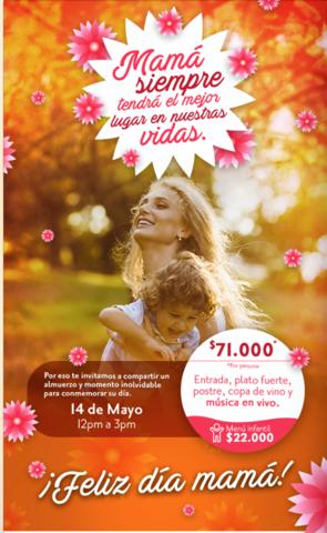 Día de las Madres Hotel TRYP