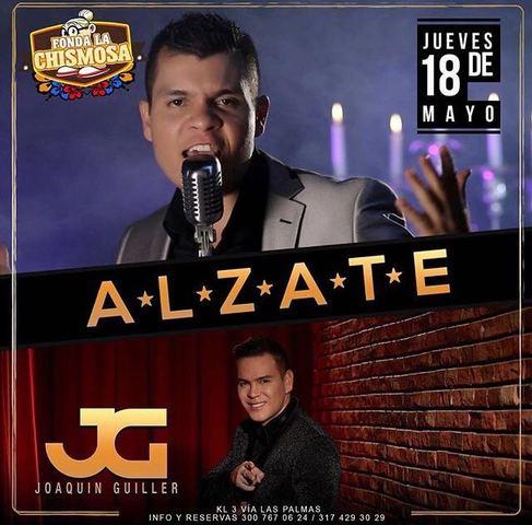 Alzate y Joaquín Guiller