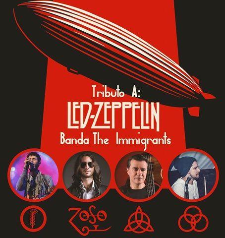 Concierto Tributo a Led Zeppelin - Banda The Immigrants