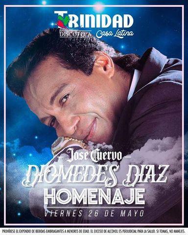 Diomedes Diaz homenaje