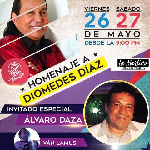 Homenaje a Diomedes Diaz