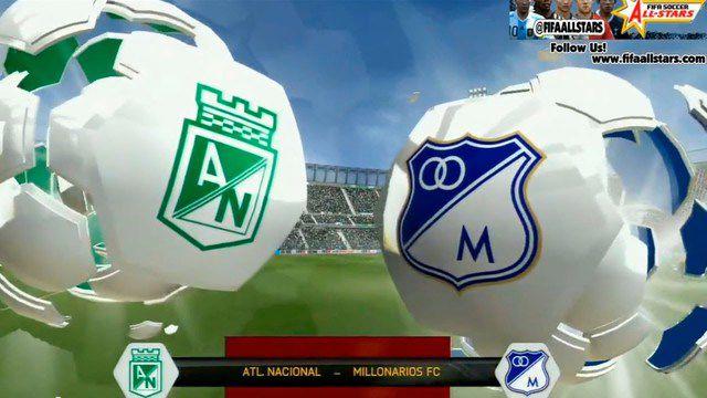 Semifinal Millonarios vs Nacional