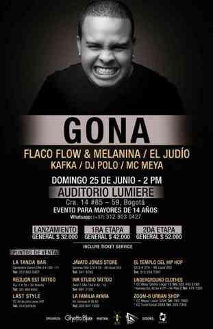 Gona en Bogota