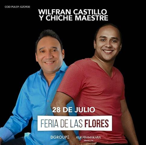 Wilfran Castillo y Chiche Maestre