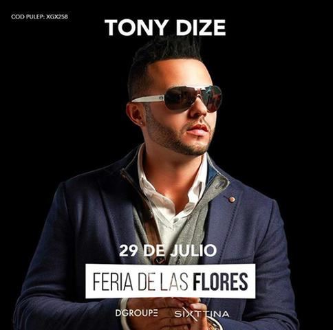 Tony Dize En Feria De Las Flores 2017