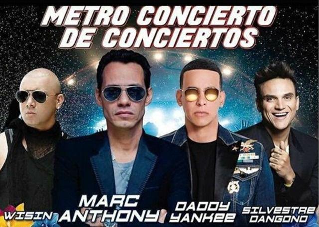 Metro Concierto Medellín 2017