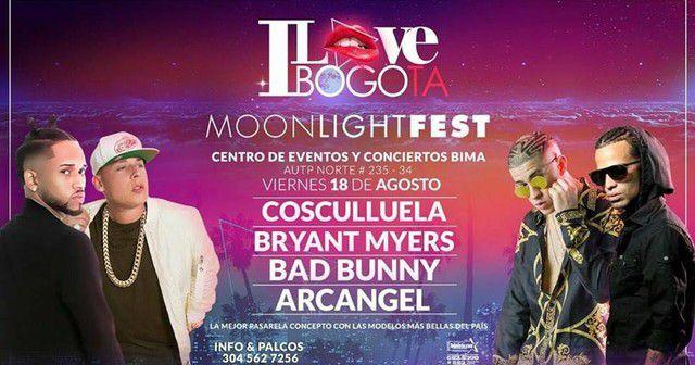 Arcangel, I Love Bogota