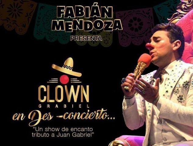 Clown  Gabriel en dos conciertos