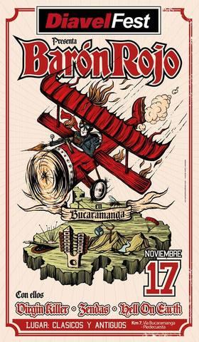 Baron Rojo, Diavel FEST