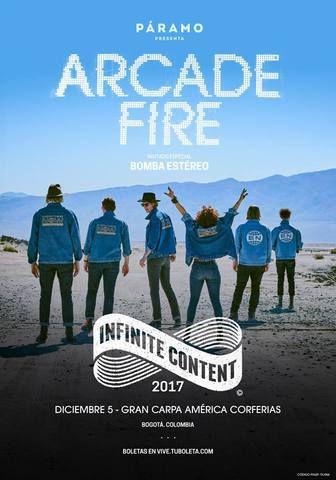 Arcade Fire en Bogota