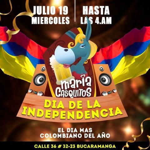 Celebra el día de la Independencia