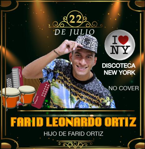 El hijo del rey Farid Ortiz