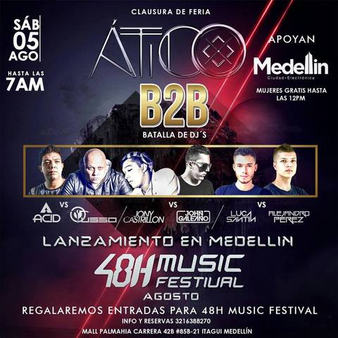 B2B Batalla de DJ'S