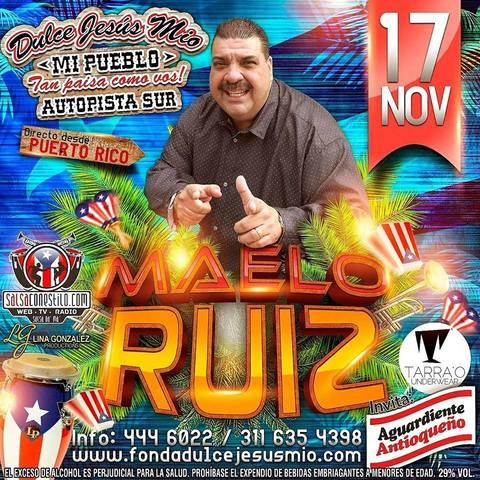 Maelo Ruiz en Dulce Jesus Mío