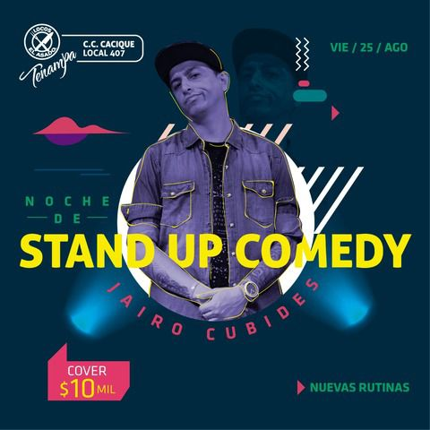Jairo Cubides, Stand Up Comedy