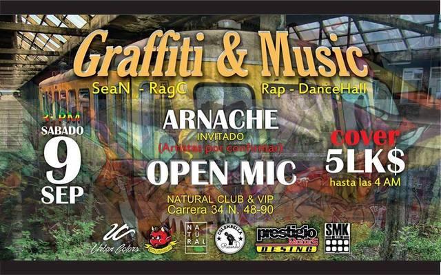 Graffiti y Musica