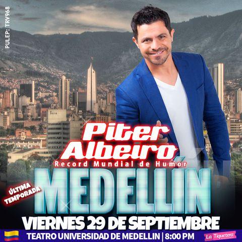 Piter Albeiro, Por Primera vez
