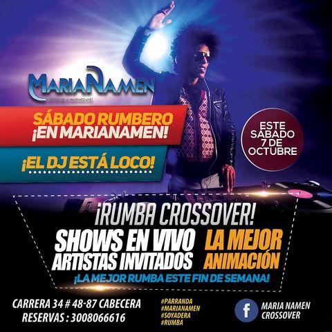 Rumba crossover en Marianamen