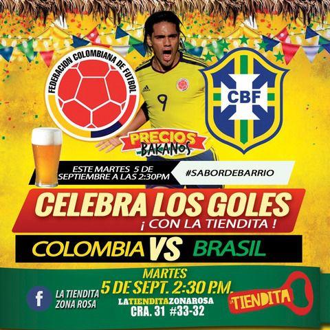 Colombia Vs Brasil 2017
