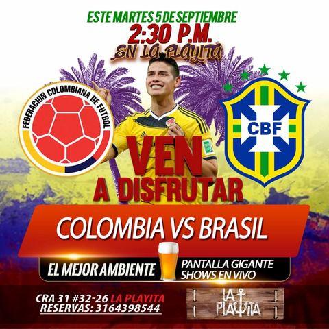 Colombia Vs Brasil..