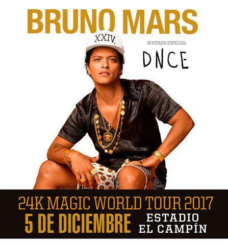 Bruno Mars en Bogota