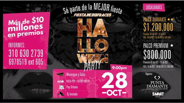 Halloween Party en Punta Diamante