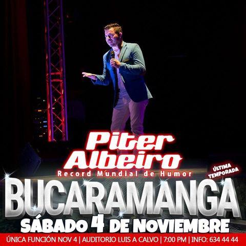 Piter Albeiro en Bucaramanga