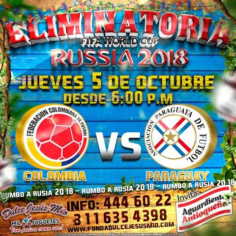 Paraguay Vs Colombia en Eliminatorias