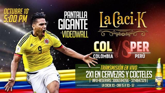 Colombia Vs Perú en La Caci-k