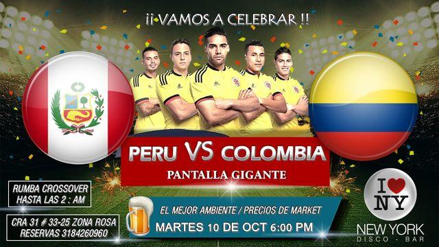 Colombia Vs Perú en New York