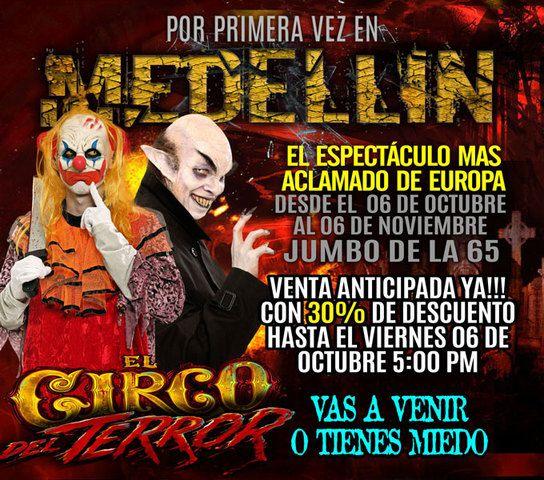 Circo Del Terror 2017