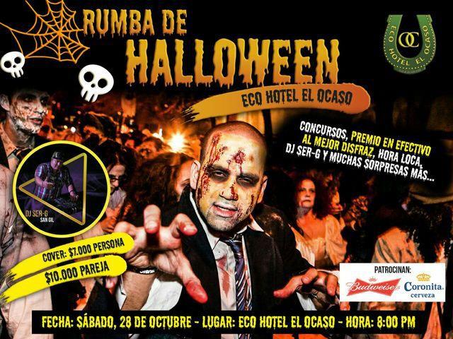 Rumba Halloween en El Ocaso