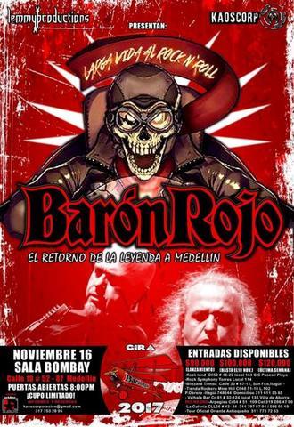 Barón Rojo en Medellín