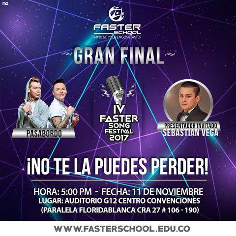 Así será  el concierto de Pasabordo en Bucaramanga