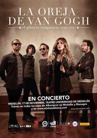 LA OREJA DE VAN GOGH — EL PLANETA IMAGINARIO TOUR 2017