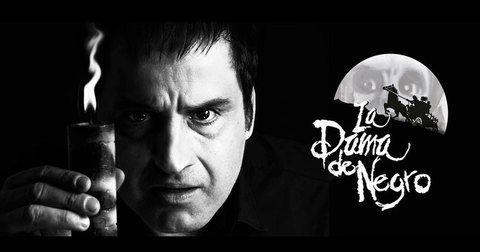 """Robinson Díaz con """"La Dama de Negro"""""""