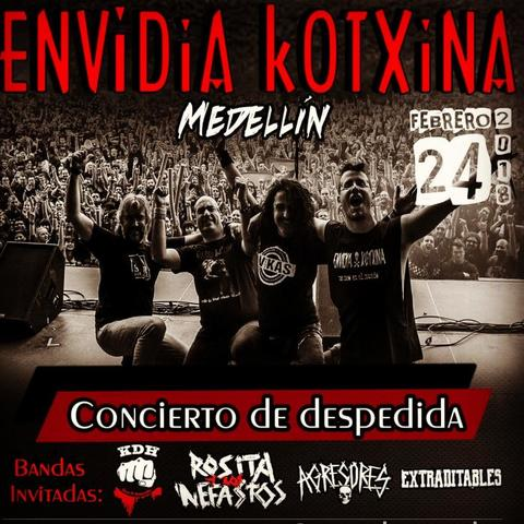 Envidia kotxina en Medellín