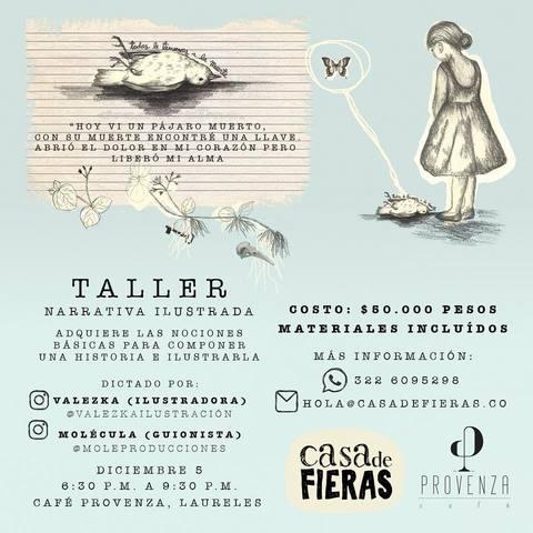 Taller Narrativa Ilustrada
