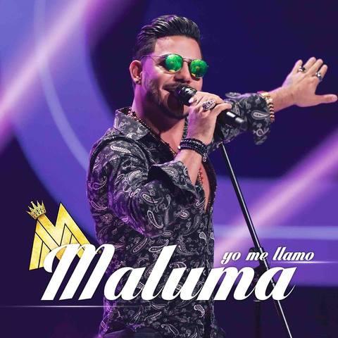 MALUMA DE 'YO ME LLAMO' EN CONCIERTO