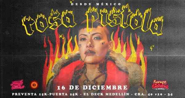 Dj Rosa Pistola en Medellin