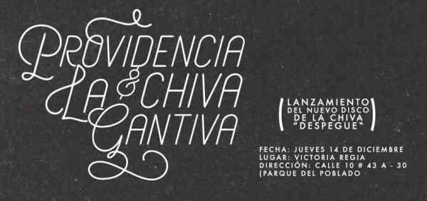 Providencia Y La Chiva Cantiva